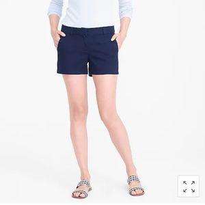 J. Crew Broken In Chino Shorts in Navy